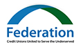 Federation Credit Unions United to Serve the Underserved Logo