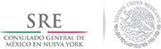 Consulate General of Mexico in New York Logo